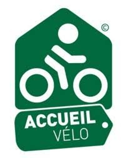 label acceuil vélo <br>